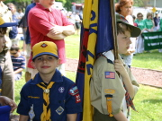 Pack 229: Kenny & Ryan D. at the 2007 Memorial Day Parade